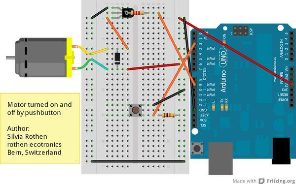 Motorsteuerung mit Interrupt und Debounce - ecotronics Blog